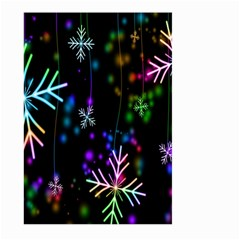 Snowflakes Snow Winter Christmas Large Garden Flag (two Sides)