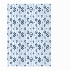 Snowflakes Winter Christmas Card Large Garden Flag (two Sides)