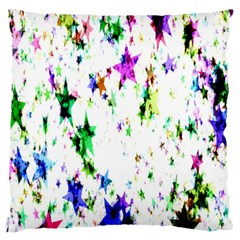 Star Abstract Advent Christmas Standard Flano Cushion Case (two Sides)