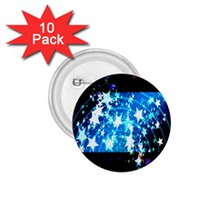 Star Abstract Background Pattern 1 75  Buttons (10 Pack)