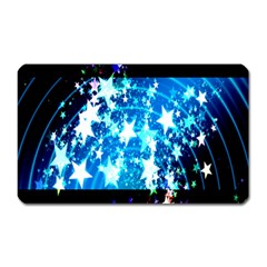 Star Abstract Background Pattern Magnet (rectangular)