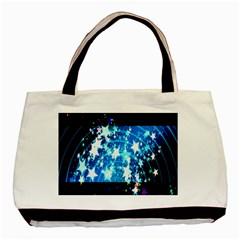 Star Abstract Background Pattern Basic Tote Bag (two Sides)