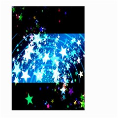 Star Abstract Background Pattern Large Garden Flag (two Sides)
