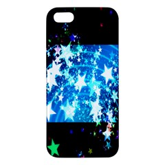 Star Abstract Background Pattern Apple Iphone 5 Premium Hardshell Case