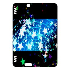 Star Abstract Background Pattern Kindle Fire Hdx Hardshell Case