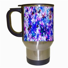 Star Abstract Advent Christmas Travel Mugs (white)