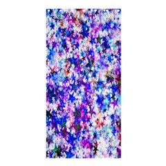 Star Abstract Advent Christmas Shower Curtain 36  X 72  (stall)