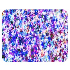 Star Abstract Advent Christmas Double Sided Flano Blanket (medium)