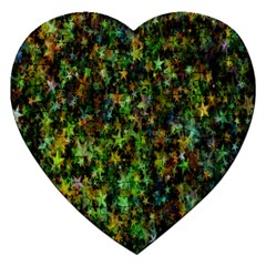 Star Abstract Advent Christmas Jigsaw Puzzle (heart)