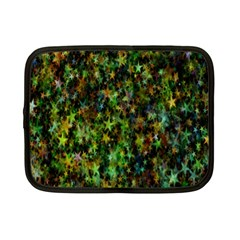 Star Abstract Advent Christmas Netbook Case (small)