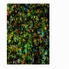Star Abstract Advent Christmas Large Garden Flag (two Sides)