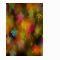 Star Background Texture Pattern Large Garden Flag (two Sides)
