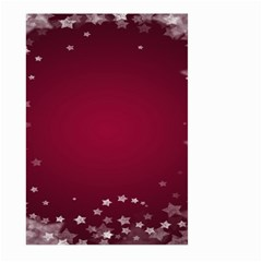 Star Background Christmas Red Large Garden Flag (two Sides)