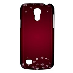 Star Background Christmas Red Galaxy S4 Mini