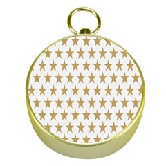 Star Background Gold White Gold Compasses
