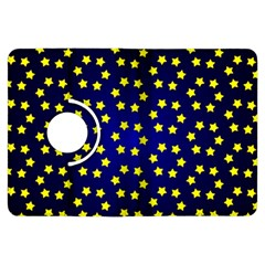 Star Christmas Red Yellow Kindle Fire Hdx Flip 360 Case