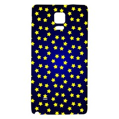 Star Christmas Red Yellow Galaxy Note 4 Back Case
