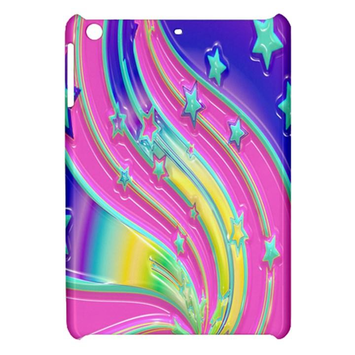 Star Christmas Pattern Texture Apple iPad Mini Hardshell Case