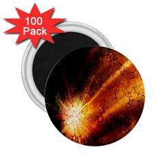Star Sky Graphic Night Background 2 25  Magnets (100 Pack)