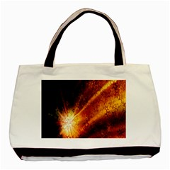 Star Sky Graphic Night Background Basic Tote Bag (two Sides)