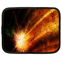 Star Sky Graphic Night Background Netbook Case (large)