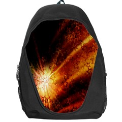 Star Sky Graphic Night Background Backpack Bag