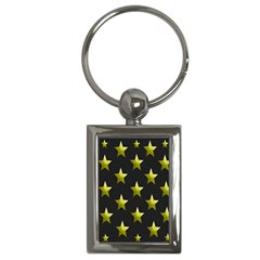 Stars Backgrounds Patterns Shapes Key Chains (rectangle)