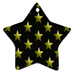 Stars Backgrounds Patterns Shapes Star Ornament (two Sides)