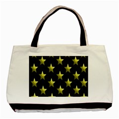 Stars Backgrounds Patterns Shapes Basic Tote Bag (two Sides)