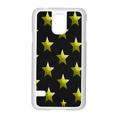 Stars Backgrounds Patterns Shapes Samsung Galaxy S5 Case (white)