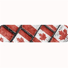 Canadian Flag Motif Pattern Large Bar Mats