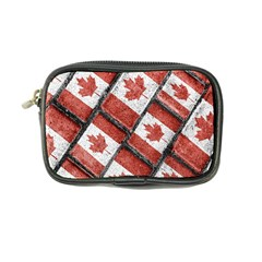 Canadian Flag Motif Pattern Coin Purse