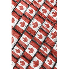 Canadian Flag Motif Pattern 5 5  X 8 5  Notebooks