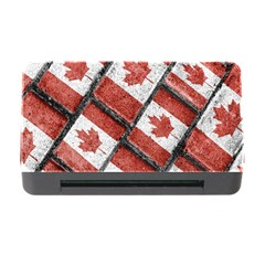Canadian Flag Motif Pattern Memory Card Reader With Cf