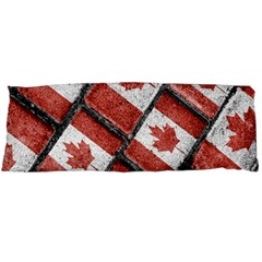 Canadian Flag Motif Pattern Body Pillow Case (dakimakura)