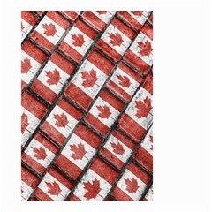 Canadian Flag Motif Pattern Small Garden Flag (two Sides)