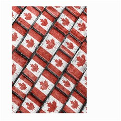 Canadian Flag Motif Pattern Large Garden Flag (two Sides)