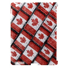 Canadian Flag Motif Pattern Apple Ipad 3/4 Hardshell Case (compatible With Smart Cover)