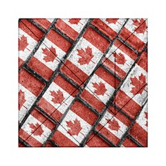 Canadian Flag Motif Pattern Acrylic Tangram Puzzle (6  X 6 )