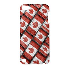 Canadian Flag Motif Pattern Apple Ipod Touch 5 Hardshell Case