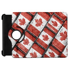 Canadian Flag Motif Pattern Kindle Fire Hd 7