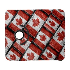 Canadian Flag Motif Pattern Galaxy S3 (flip/folio)