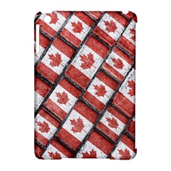 Canadian Flag Motif Pattern Apple Ipad Mini Hardshell Case (compatible With Smart Cover)
