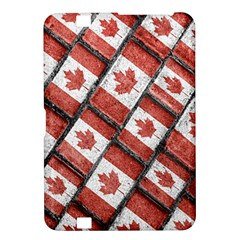 Canadian Flag Motif Pattern Kindle Fire Hd 8 9