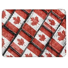 Canadian Flag Motif Pattern Samsung Galaxy Tab 7  P1000 Flip Case