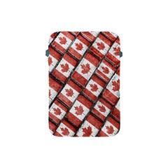 Canadian Flag Motif Pattern Apple Ipad Mini Protective Soft Cases