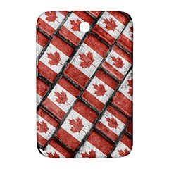 Canadian Flag Motif Pattern Samsung Galaxy Note 8 0 N5100 Hardshell Case