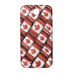 Canadian Flag Motif Pattern Samsung Galaxy S4 I9500/i9505  Hardshell Back Case