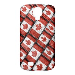 Canadian Flag Motif Pattern Samsung Galaxy S4 Classic Hardshell Case (pc+silicone)