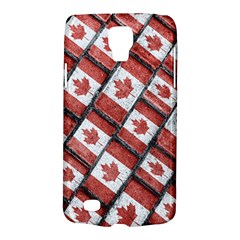 Canadian Flag Motif Pattern Galaxy S4 Active